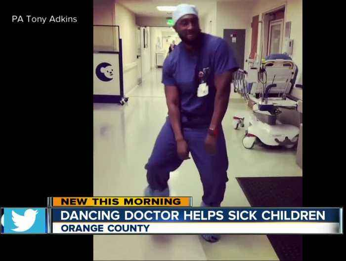 Dancing health care worker brings joy to sick children