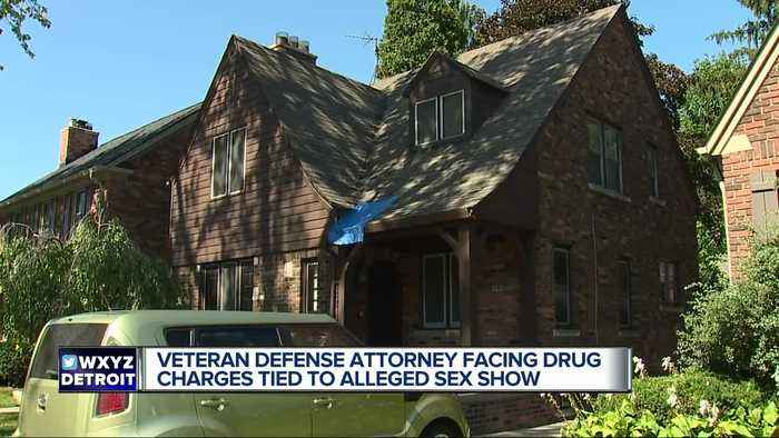 News video: Grosse Pointe Farms attorney facing drug charges after 'sex party'