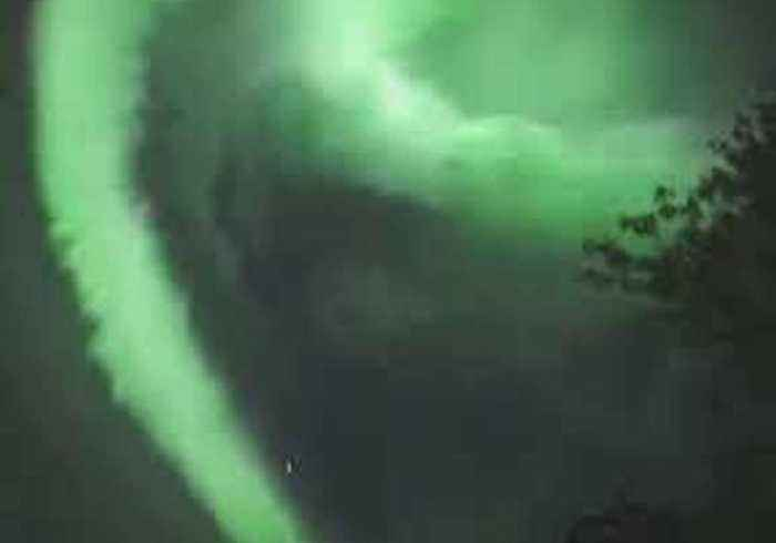 News video: Stunning Wave of Northern Lights Flutter Above Luosto, Finland