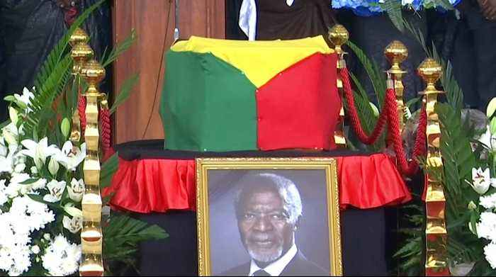 News video: Former UN chief Kofi Annan laid to rest in Ghana
