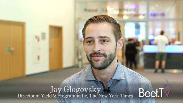 New York Times Put Programmatic On Pause In Europe: Jay Glogovsky explains