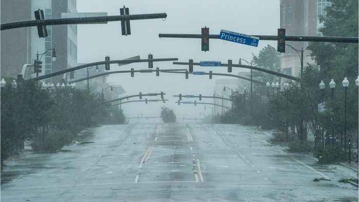 Florence Knocks Out Power For Hundreds Of Thousands