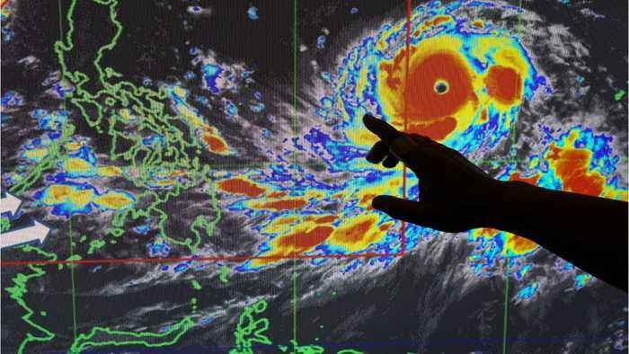 Super Typhoon Mangkhut Threatening Millions Of People In The Philippines