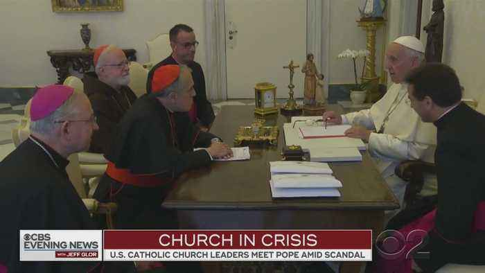 Pope Francis Meets With Catholic Leaders In Rome Amid Ongoing Sex Abuse Scandal