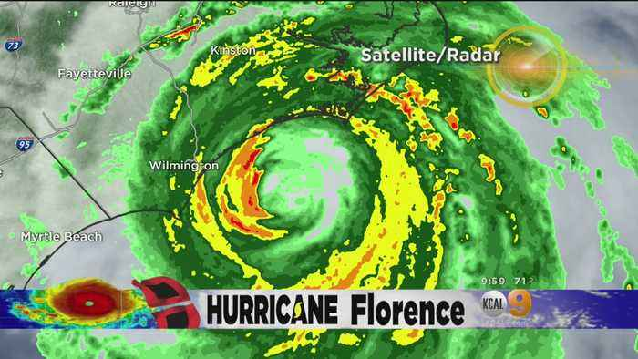 Hurricane Florence Slams Carolina Coast