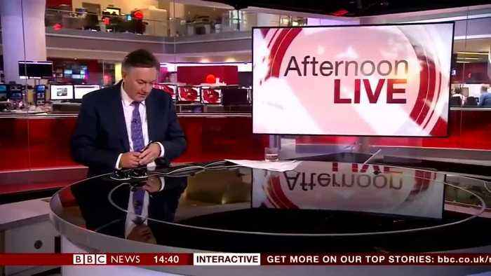 BBC Newsreader Simon McCoy's Wry Response To Salisbury Suspects