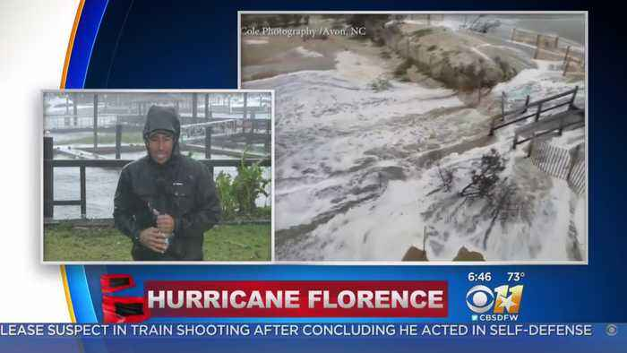 News video: Category 1 Hurricane Florence Makes Landfall In North Carolina