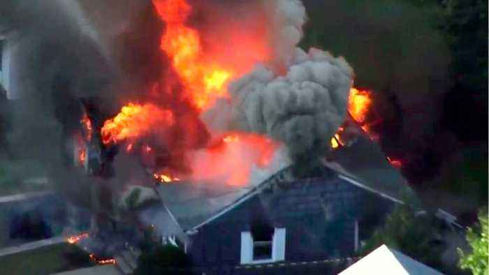 Gas Explosions Kill At Least 1, Drive Thousands From Boston Suburbs