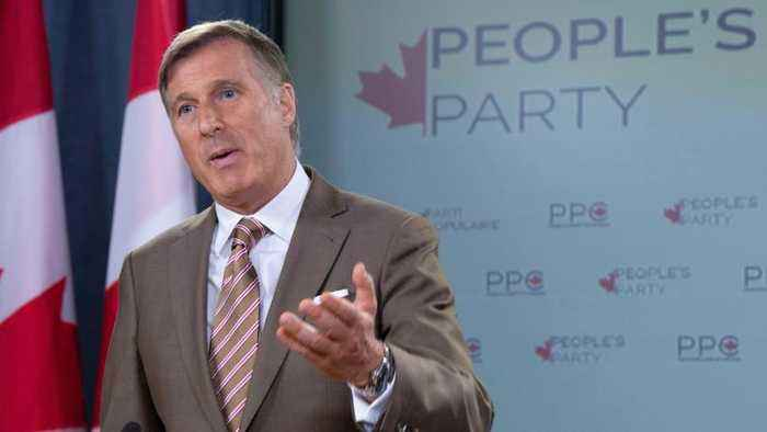 Maxime Bernier calling new venture The People's Party of Canada