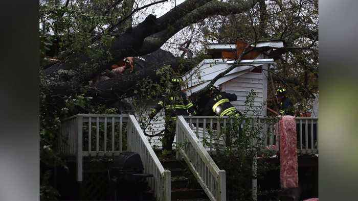 Mom, Infant Killed When Tree Falls on Home During Hurricane Florence