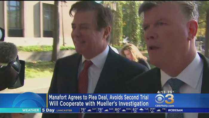 News video: Manafort Agrees To Plea Deal, Avoids Second Trial