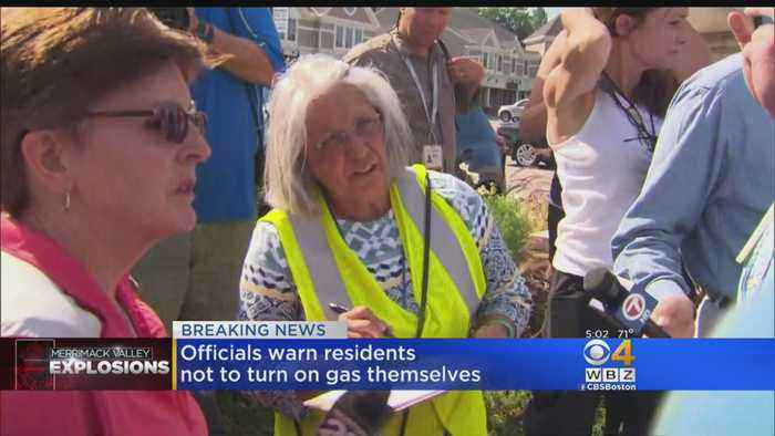 News video: North Andover Residents Frustrated With Response After Gas Explosions