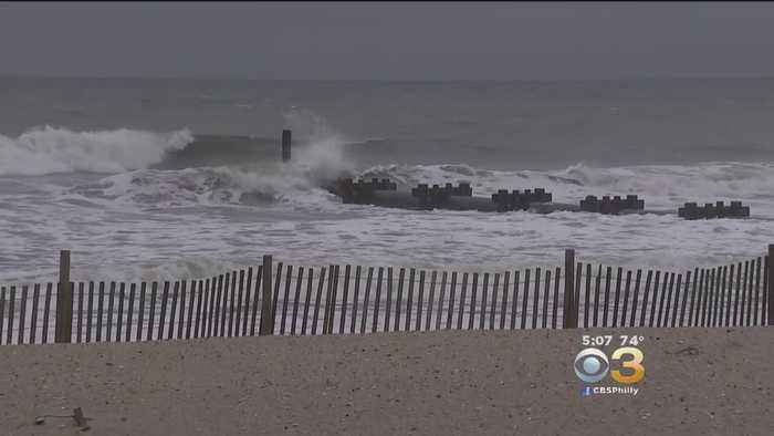 News video: Jersey Shore Feeling Effects Of Hurricane Florence