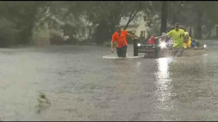 News video: Berks-based Red Cross chapter on ground in South Carolina