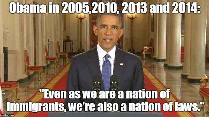 Image result for obama on illegal immigration