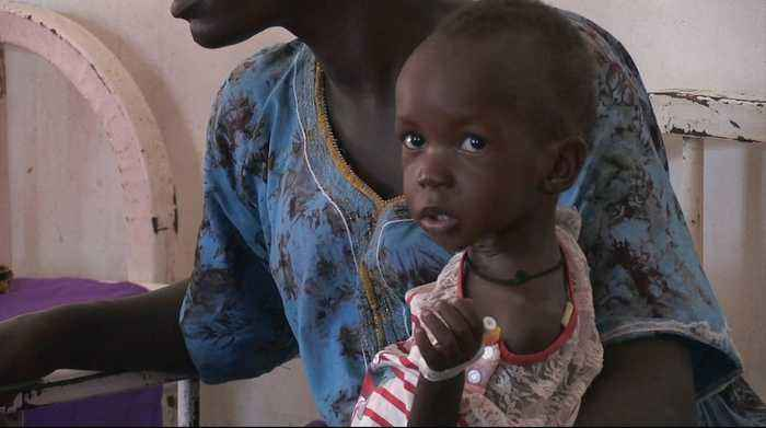 News video: Millions in South Sudan surviving on food aid