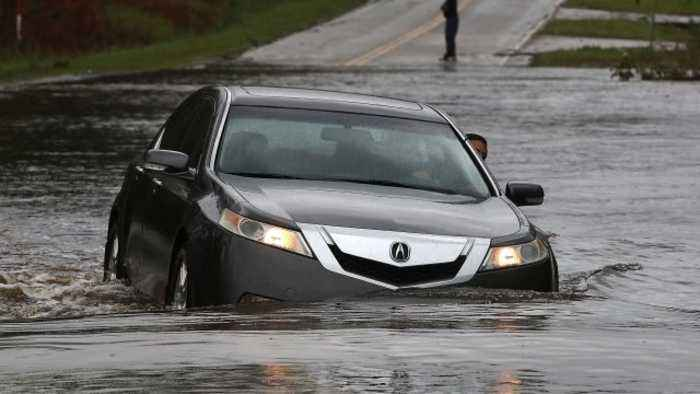 Forecasters Say Florence's Heavy Rain Threat Continues