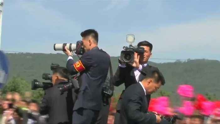 Two Koreas kick off third summit in Pyongyang