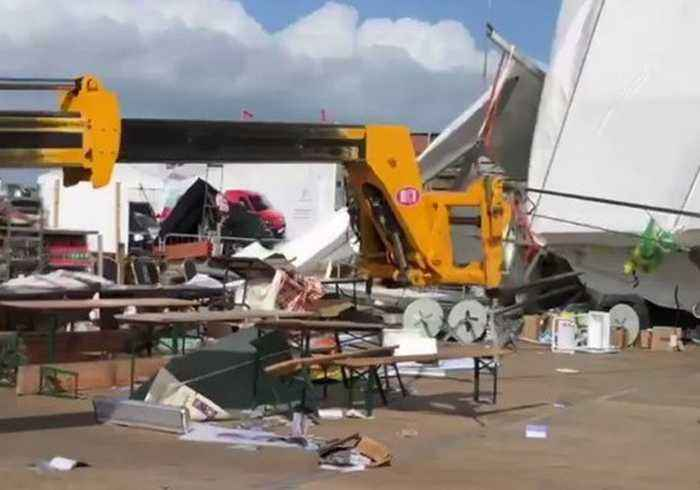 Storm Ali Cause Wreaks Havoc on Ireland's National Ploughing Championships