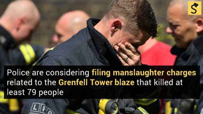 Manslaughter Charges Eyed in Deadly Grenfell Tower Blaze