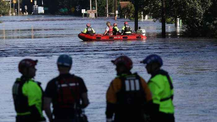 Carolinas Hit With Massive Flooding Due to Florence