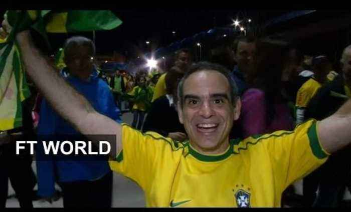 Brazil wins opening game of World Cup