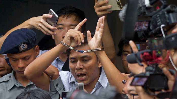 UN Secretary General Calls For Pardon Of Journalists In Myanmar