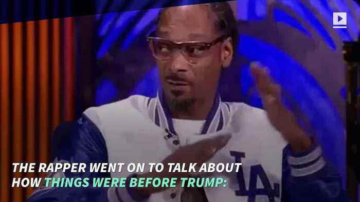 News video: Snoop Dogg Slams Kanye West for Supporting Trump