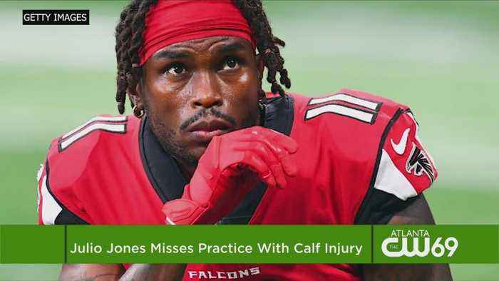 Add WR Julio Jones To Falcons' Long List Of Injured Players