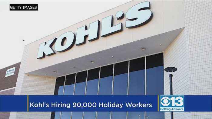 Kohl's Plans To Hire 90,000 Seasonal Workers For The Holidays