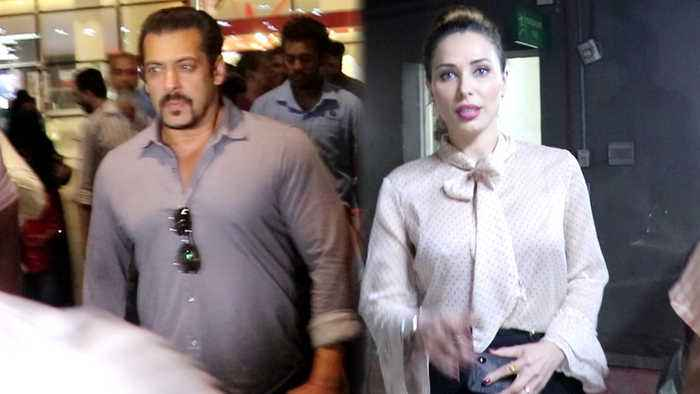 Salman Khan & Lulia Vantur spotted at Mumbai airport; Watch Video | FilmiBeat