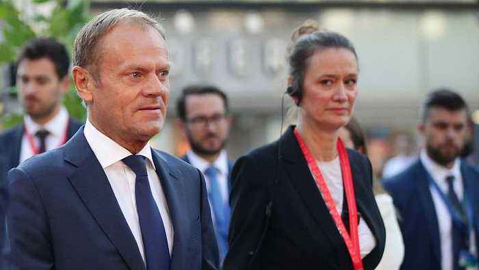 UK's Brexit stance 'surprisingly tough and uncompromising', says Tusk