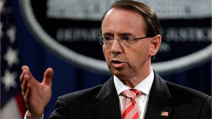 News video: Did Dep. AG Rosenstein Actually Consider Wearing A Wire To Record Trump?