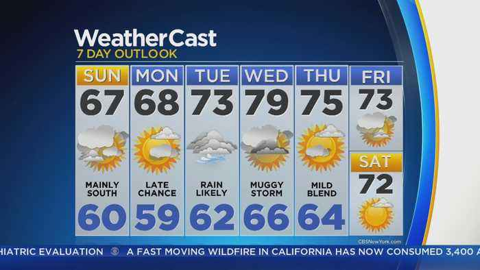 News video: 9/23 CBS2 Afternoon Forecast