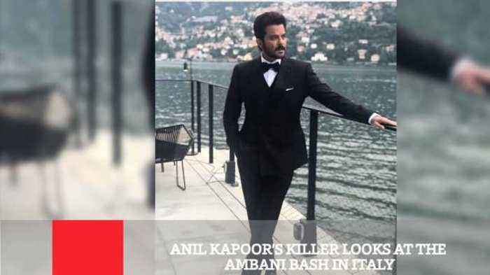 Anil Kapoor's Killer Looks At The Ambani Bash In Italy