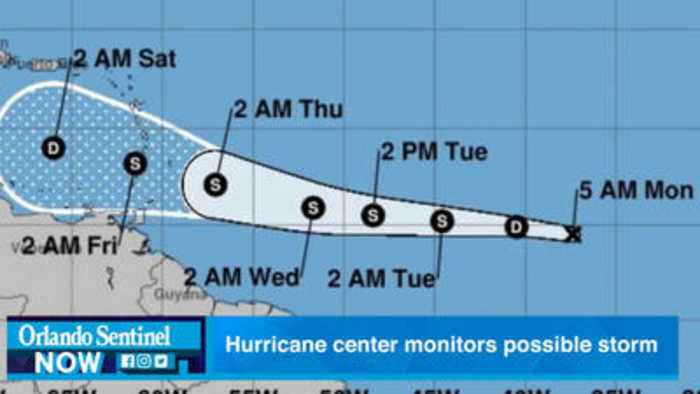 News video: As Tropical Depression Kirk dissipates, system between Bermuda, Bahamas could develop