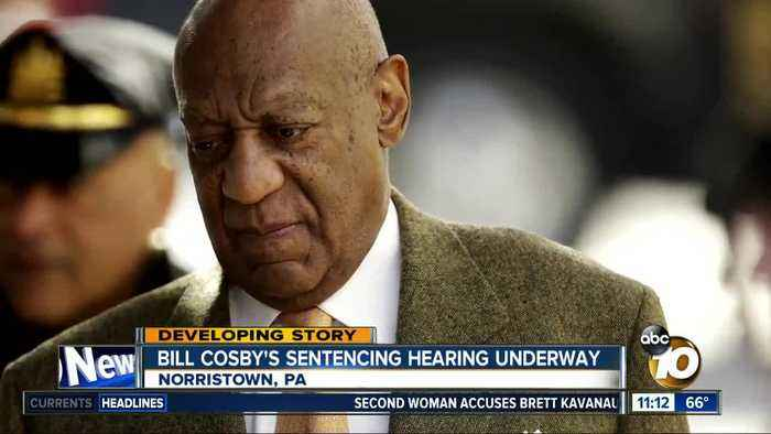 News video: Bill Cosby's sentencing hearing underway