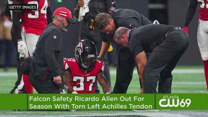 Ouch: Falcons' Ricardo Allen Has Torn Achilles, Out For Season
