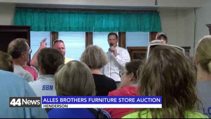 News video: alles brothers auction