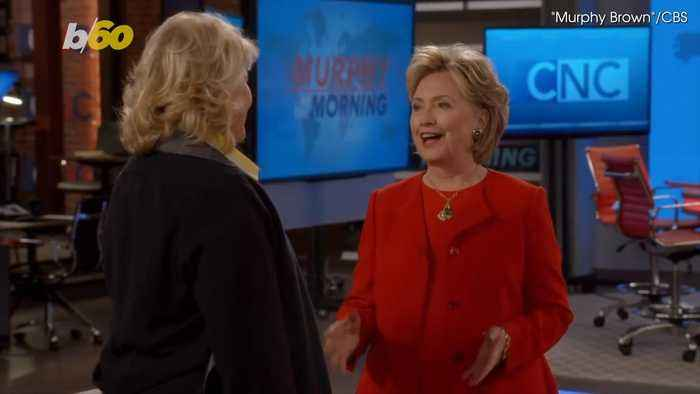 News video: Murphy Brown Gives Hillary Clinton a Job for One Scene