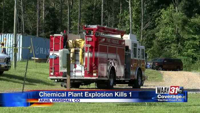 Chemical Plant Explosion Kills 1
