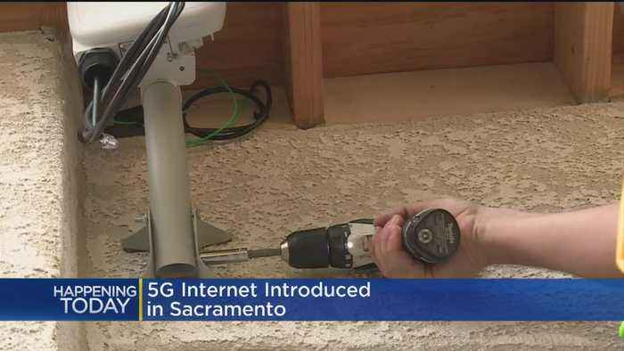 Verizon Launches 5G Broadband In Sacramento