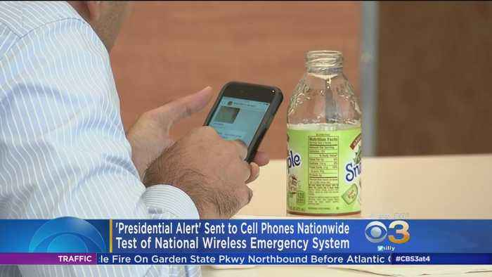 'Presidential Alert' Sent To Cell Phones Nationwide