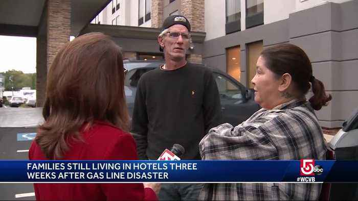 Families still living in hotels 3 weeks after gas disaster