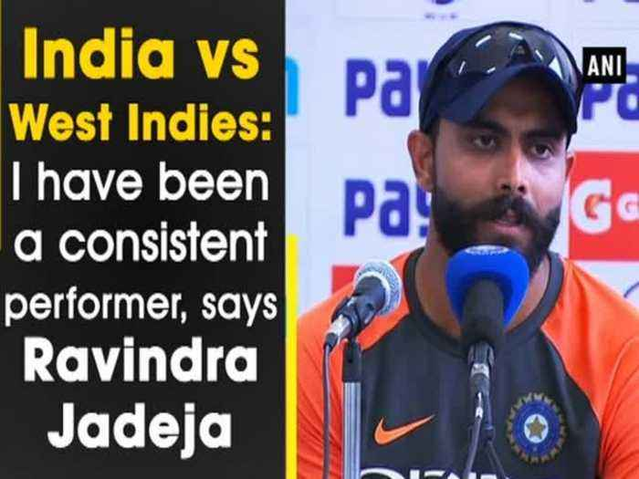 News video: India vs West Indies: I have been a consistent performer, says Ravindra Jadeja