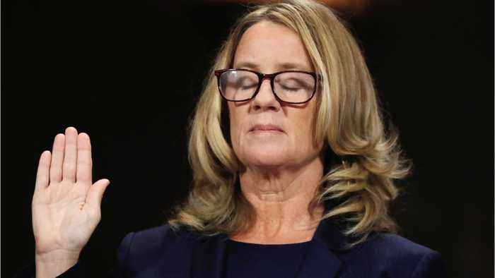 Trump's 100% Certain Christine Blasey Ford Named The Wrong Guy