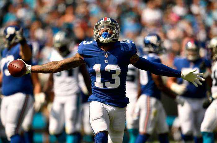 Odell Beckham Jr. Sounds Off on State of Giants, Has Huge Day in Loss to Panthers