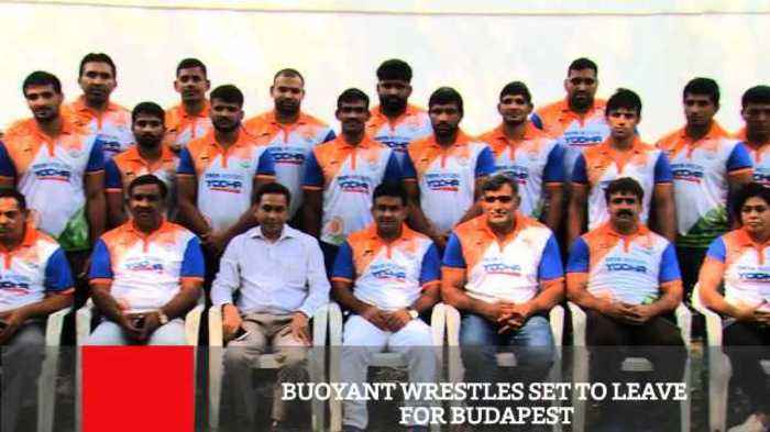 A strong 30-member team, led by Olympic medallist Sakshi Malik and Asian Games gold medallist Bajrang Punia will represent India