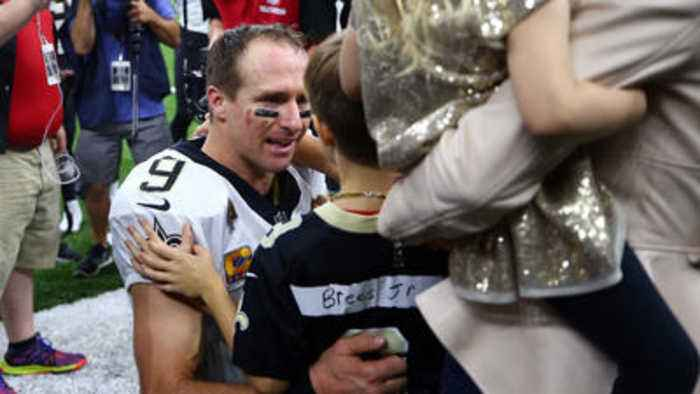Saints Drew Brees Sets Nfl Record For Passing Yards