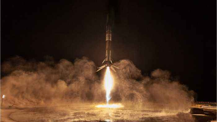SpaceX Launches And Lands Falcon 9 On West Coast